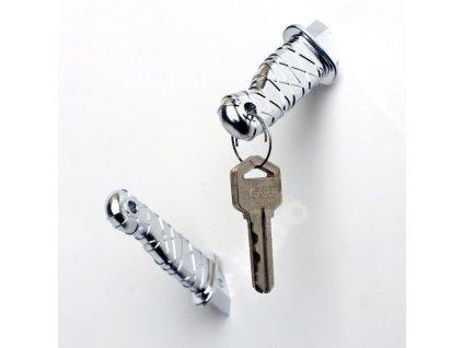 eng pl Ninja knife magnets SILVER 1407 5