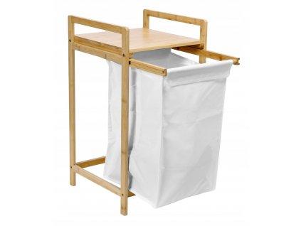 56951 bambusovy kos na pradlo nebo hracky hanoi