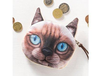 eng pl 3D Cat coin bag model 1 1650 2