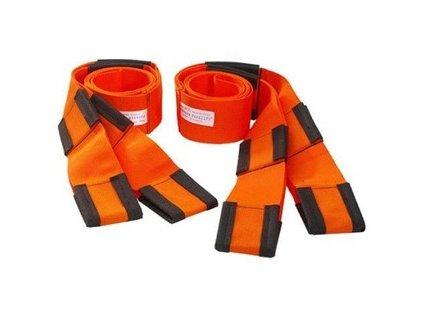 2309 1 stehovaci pasy 2 kusy oranzova