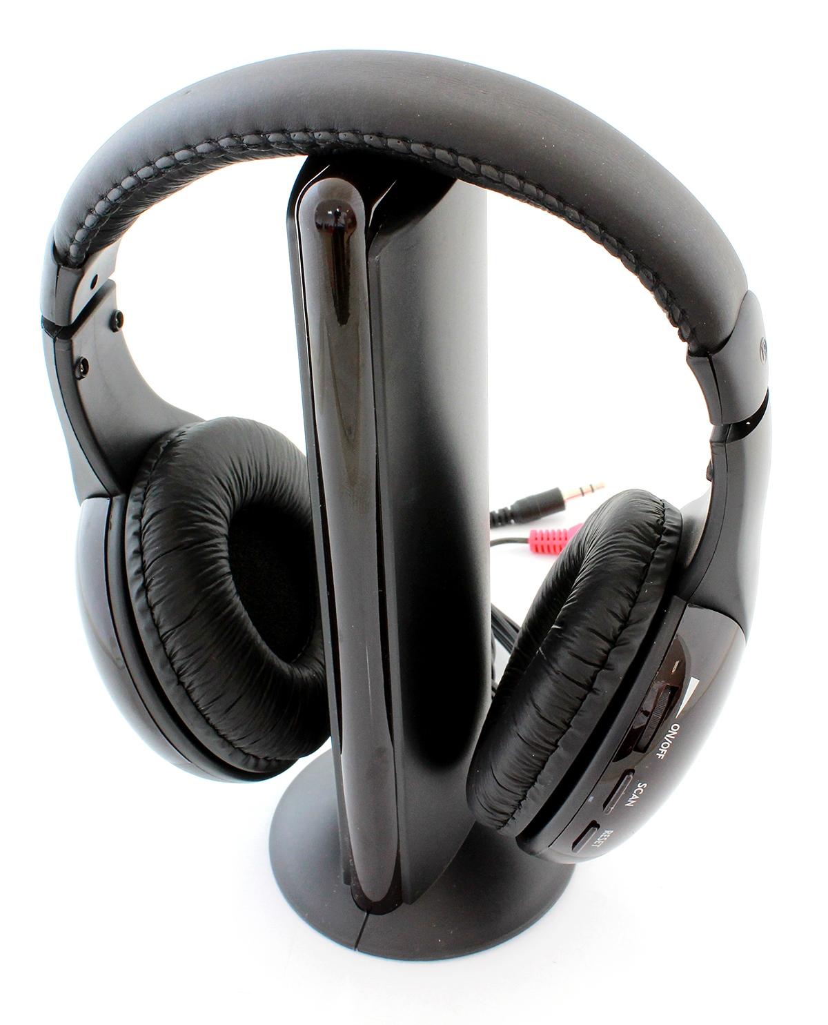 APT Bezdrôtové slúchadlá 5v1 MH2001 - čierna, ZS7A