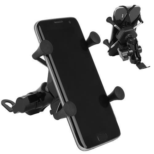 ISO Držiak pre mobil na riadidlá motocykla s nabíjačkou, 8685