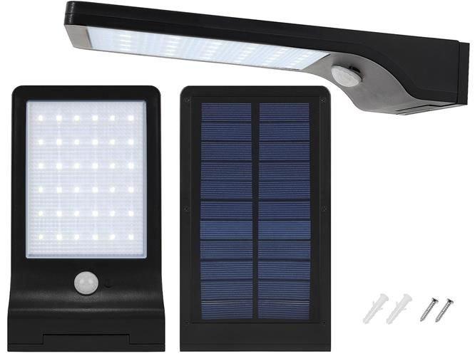 ISO Solárne vonkajšie osvetlenie 48 LED s pohybovým senzorom, 8818