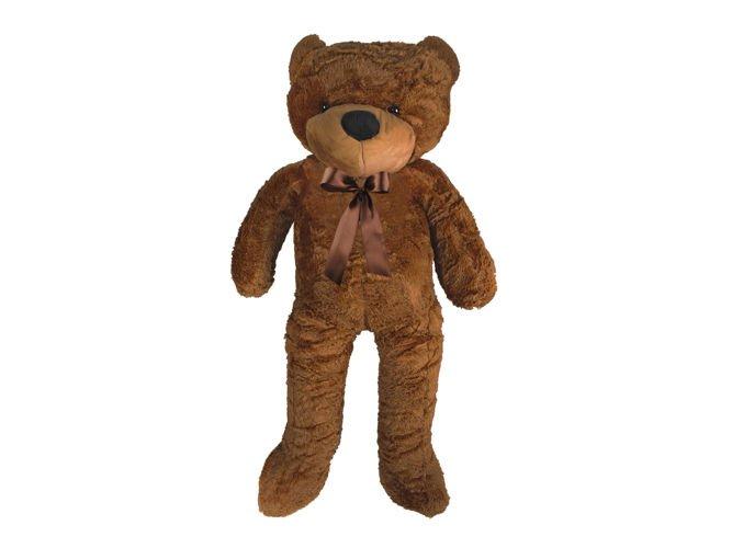 ISO Veľký plyšový medveď 100 cm - tmavo hnedý, 4653