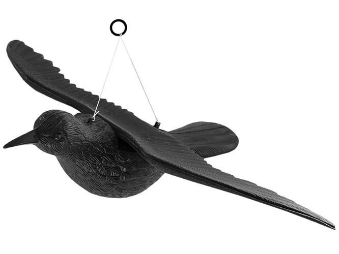 ISO Odpudzovač holubov a vtákov Havran 40 cm, 6556