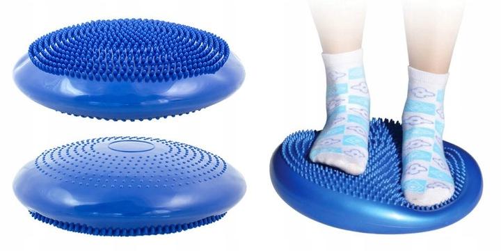 ISO Fitness balančné podložka, modrá, 1269