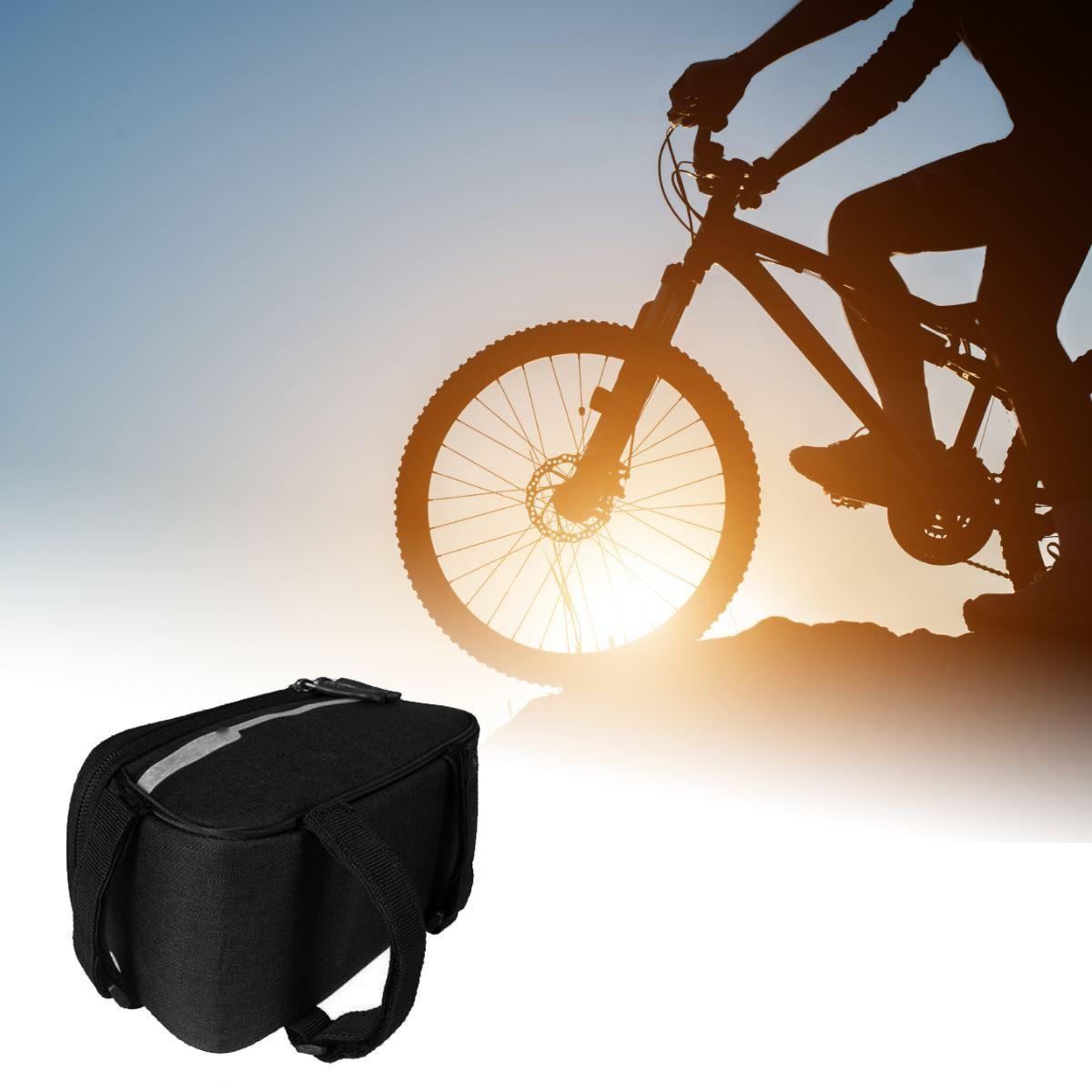 B2B Taška na bicykel pre Smartphone - čierna