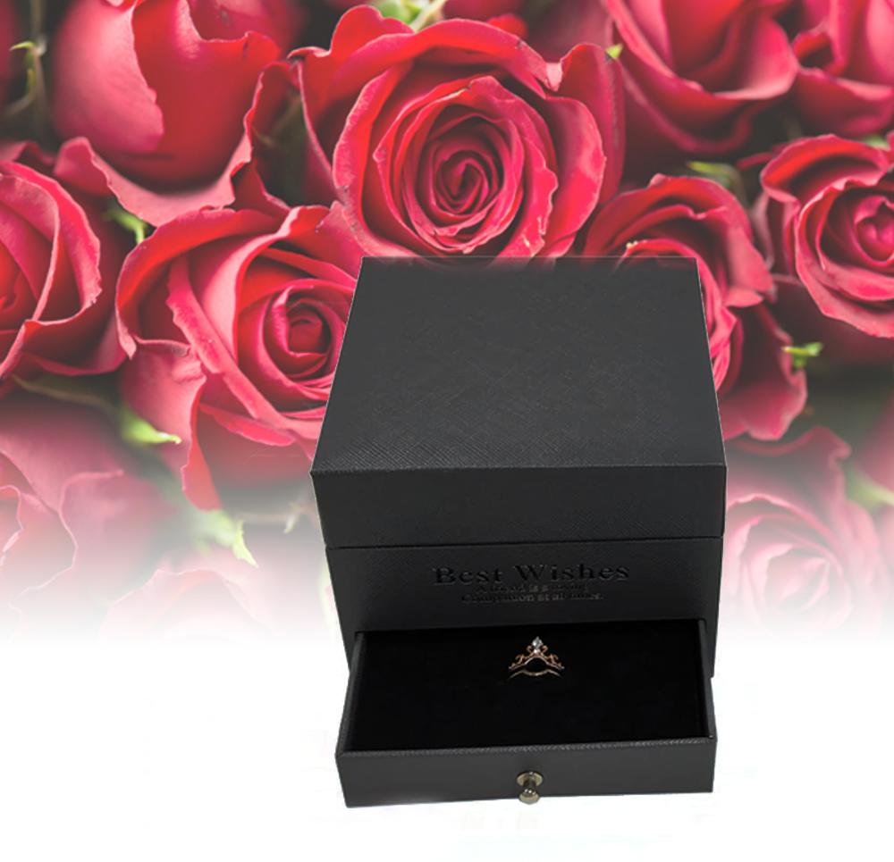 B2B Šperkovnica s ružami