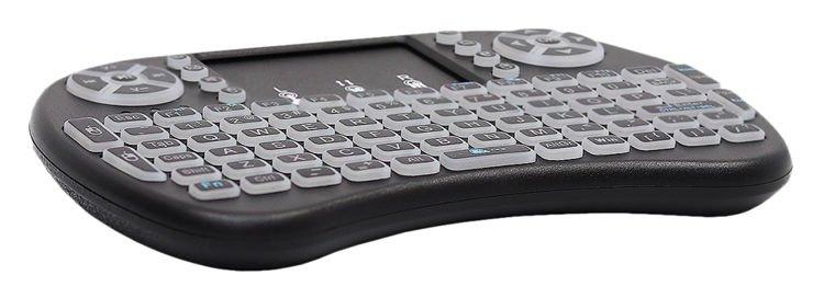 ISO Mini Wireless klávesnica podsvietená 5605