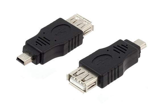 APT Redukcia USB A - miniUSB B, AK214
