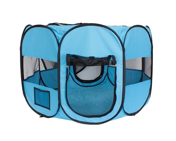 APT Látková prepravná klietka 90 x 61 cm - modrá, AG379