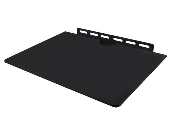 ISO TV polička Q08 34,5x24,5cm, čierna, 2381