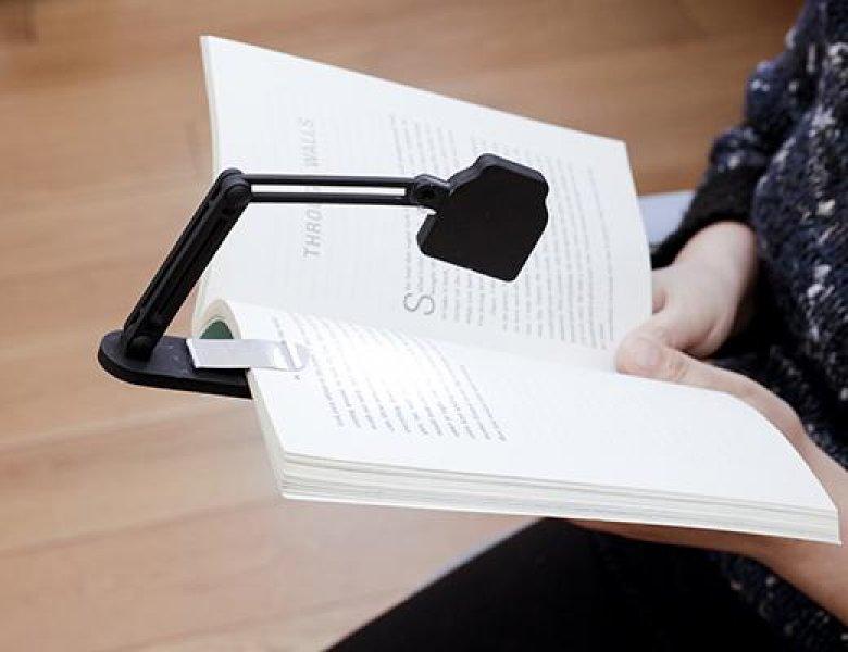 UD Originálne lampička na knihu