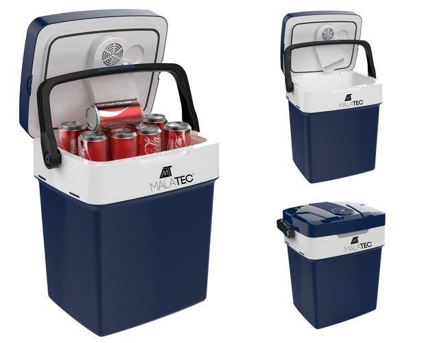ISO Turistická chladnička (12 / 220V) 29 L modrá, 10208