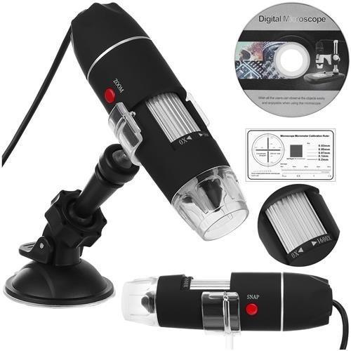 ISO USB digitálny mikroskop k PC, 50-1600x, 9295