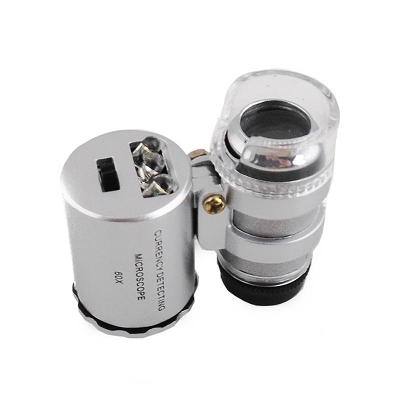 Verk Vreckový mikroskop, lupa 60x, 09068