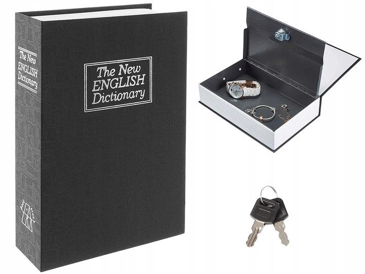 Verk Kniha sejf čierna, 01439