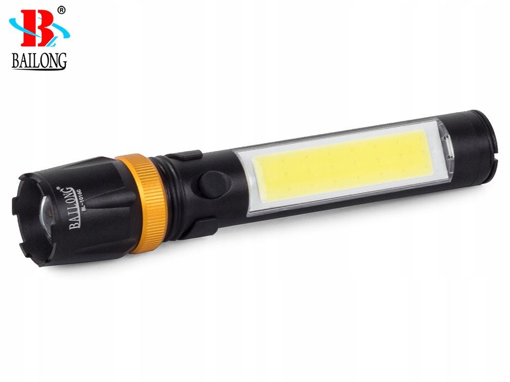 Verk Taktické svietidlo BAILONG LED ZOOM CREE, 08300