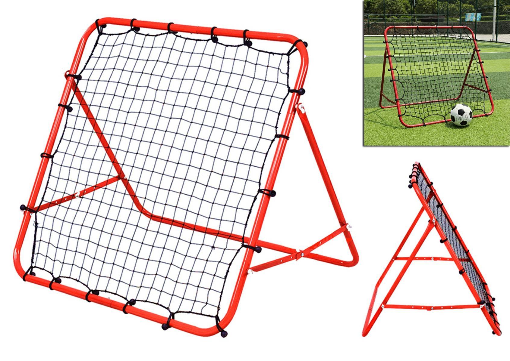 APT Nastaviteľná futbalová odrážacie sieť 100x100cm, FT24A