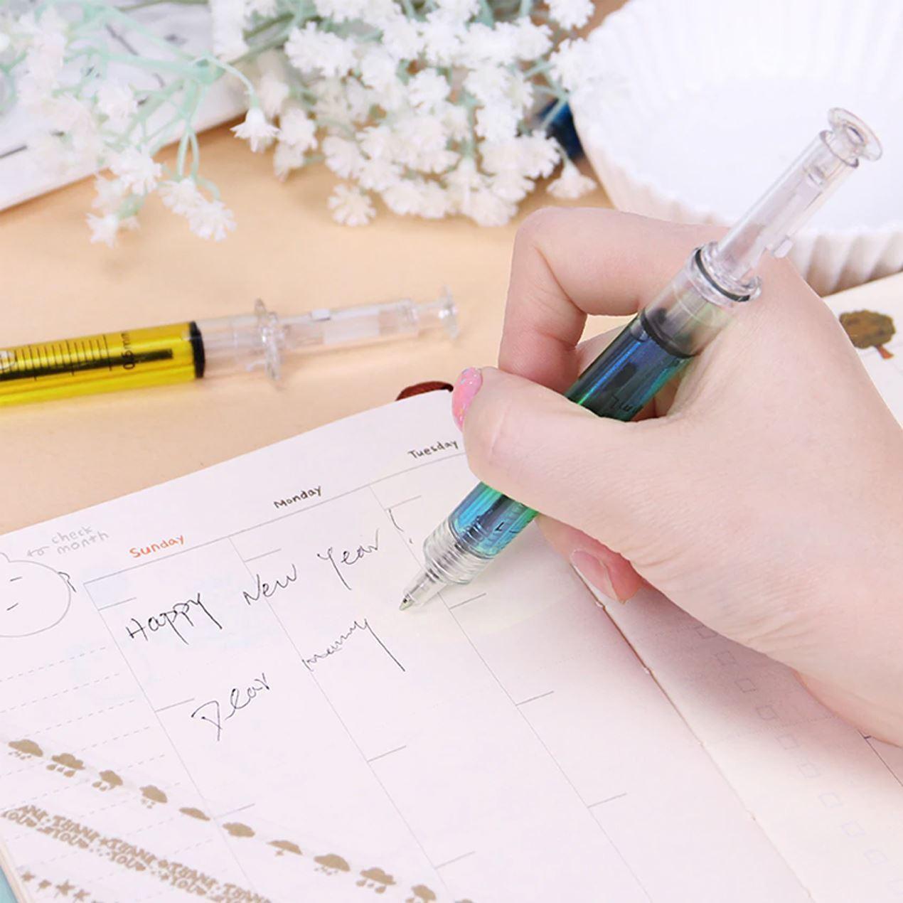 GFT Striekačkové pero - modrá