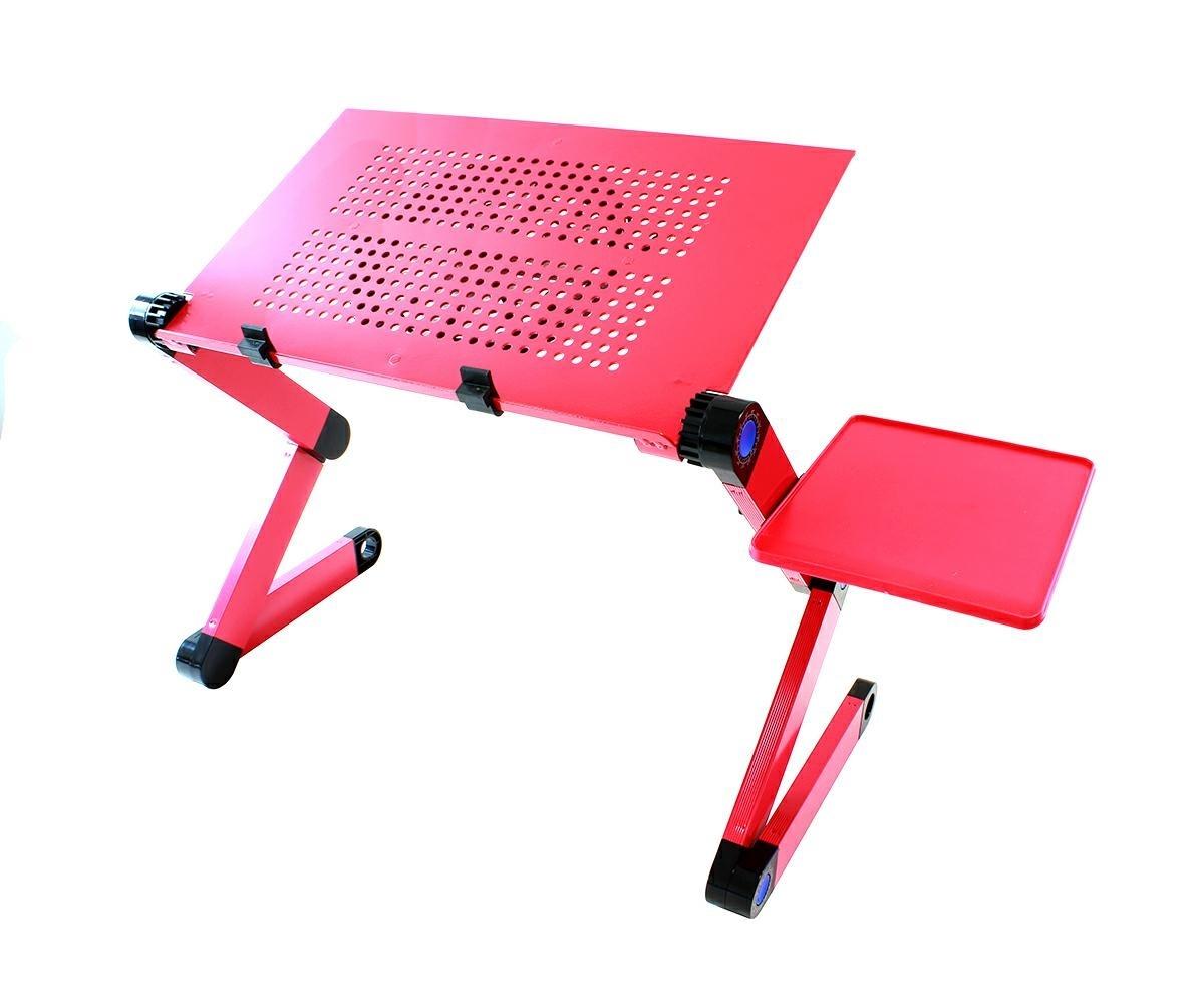 APT Flexibilné stolík na notebook s chladením - ružový, SL7B