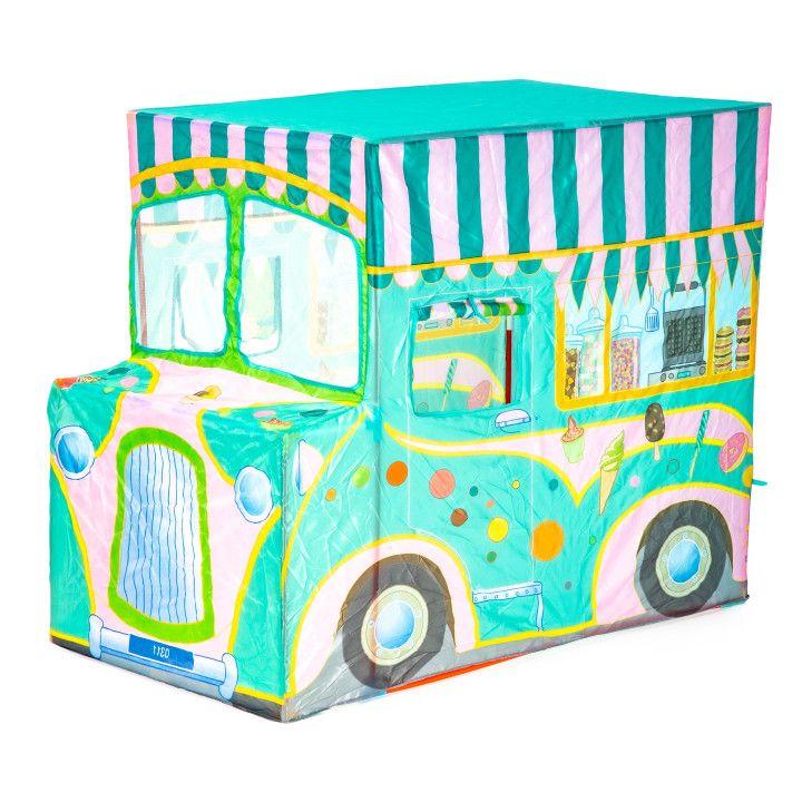 IPLAY Ipľa Detský stan zmrzlinárske auto, 8205