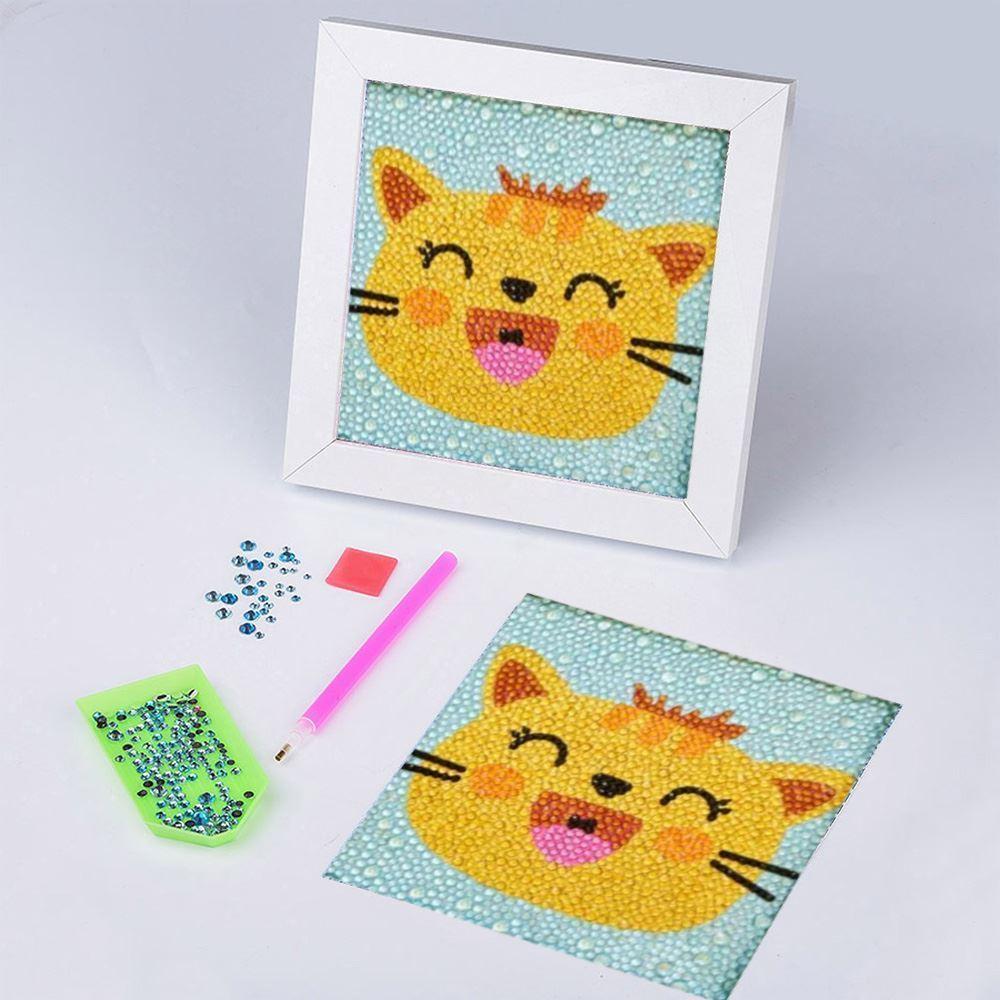 GFT Diamantové maľovanie pre deti - mačička