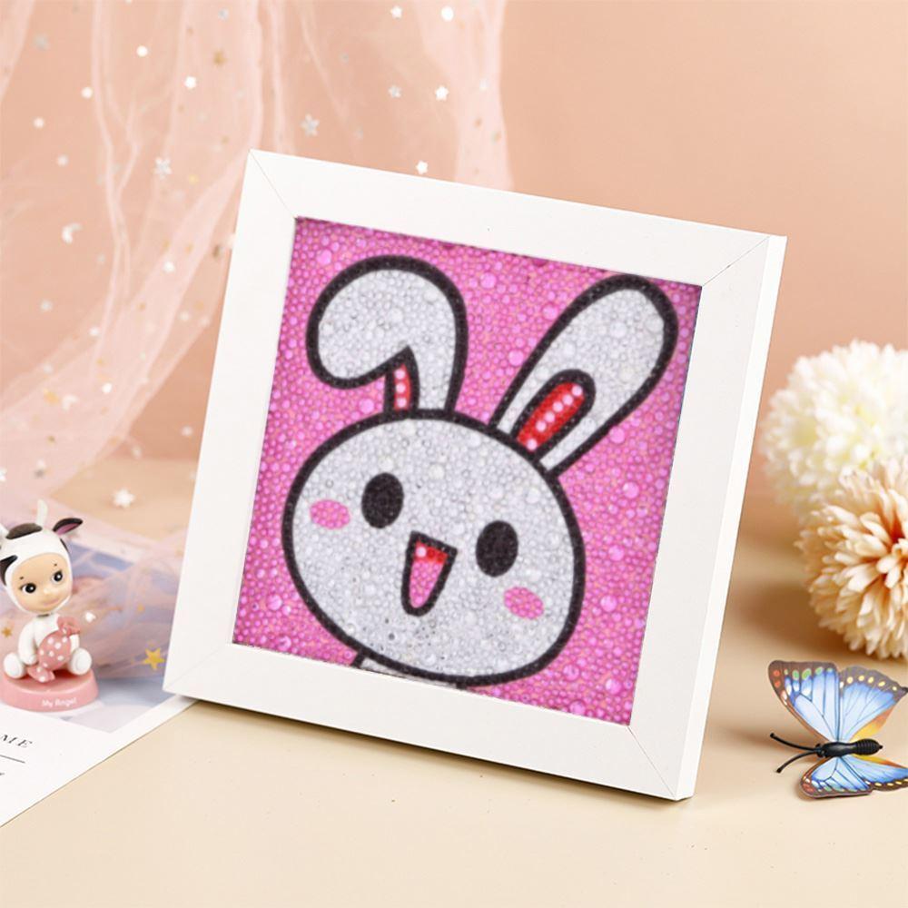 GFT Diamantové maľovanie pre deti - králiček