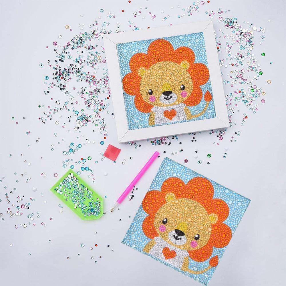 GFT Diamantové maľovanie pre deti - lev