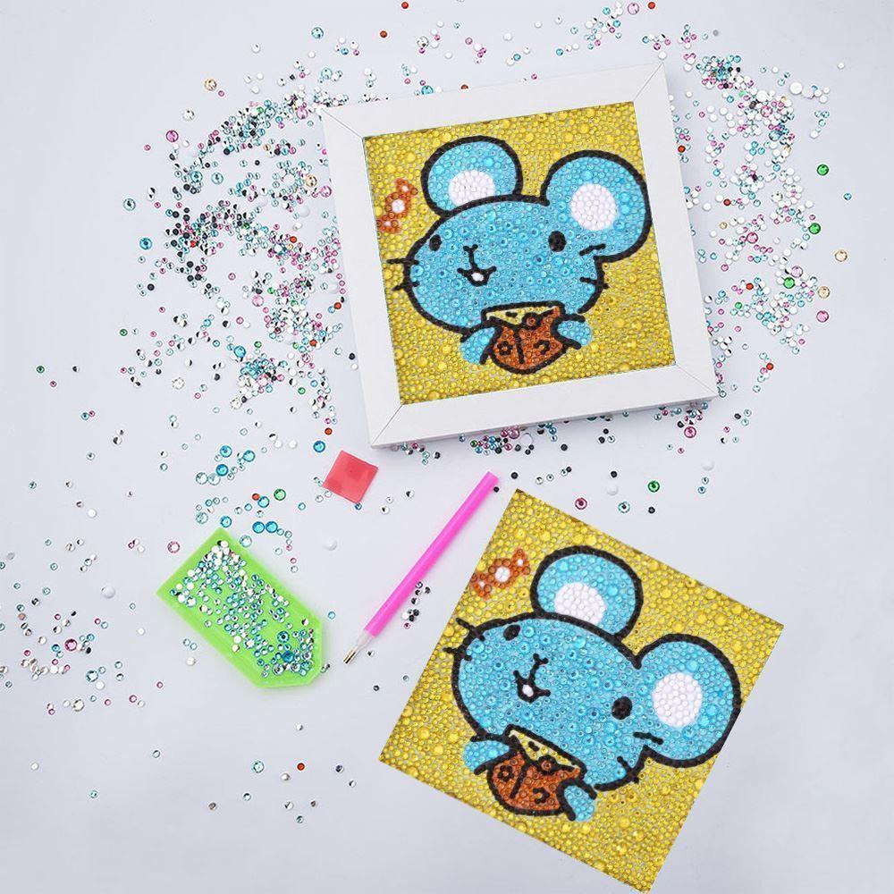 GFT Diamantové maľovanie pre deti - myška