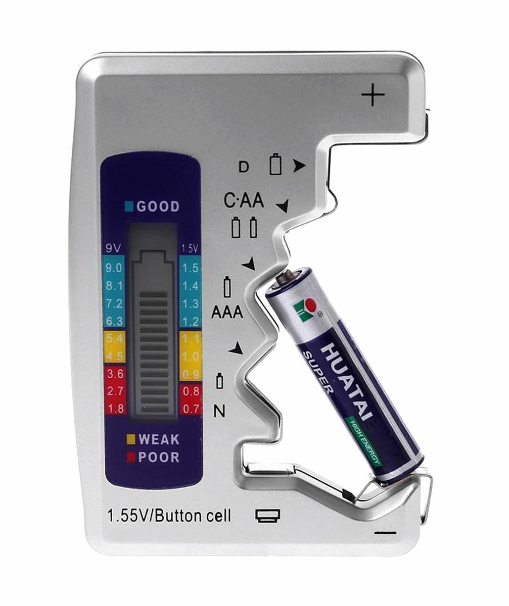 APT AG372B Univerzálny tester batérií - AA, AAA, N, C, D, 9V a gombíkových