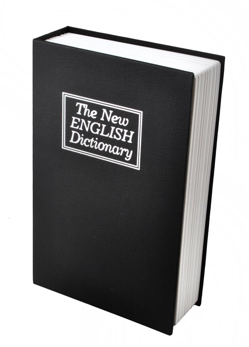 ISO Kniha - sejf na cennosti v podobe knihy. Nespoznáte rozdiel!