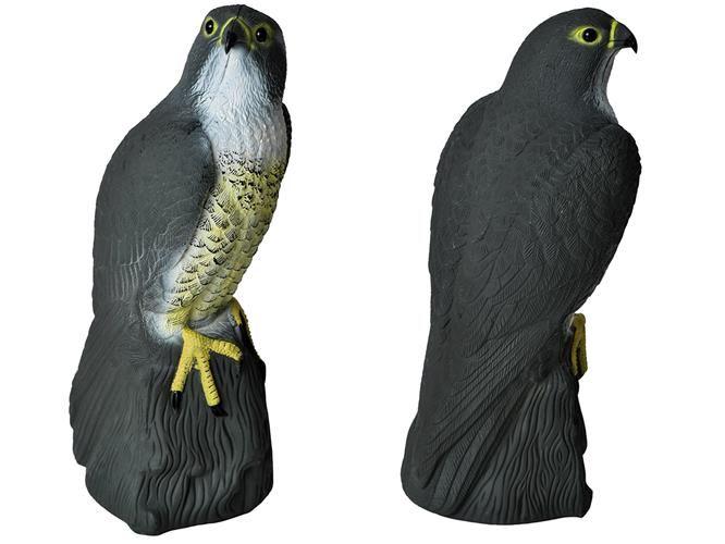 ISO 6240 Odpudzovač holubov a vtákov Sokol 40 cm - čierny