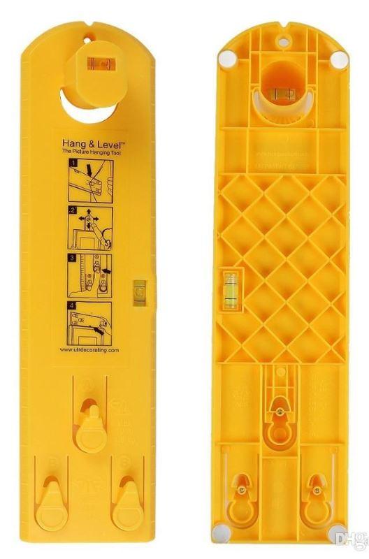 GFT Pomôcka pre zavesenie obrazov, žltá