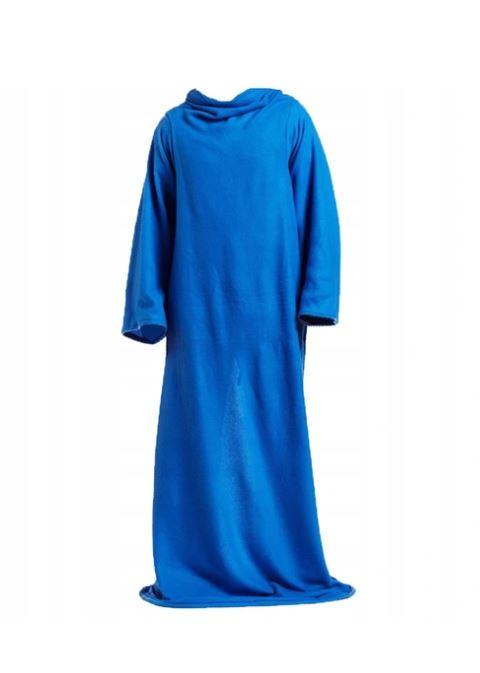 ISO Deka s rukávmi, modrá, 100