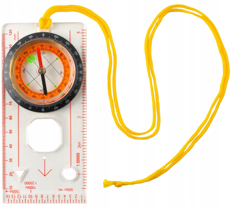 ISO Kompas mapový s lupou, 7953