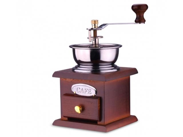 ART Ručný mlynček na kávu Retro štýl, 0523