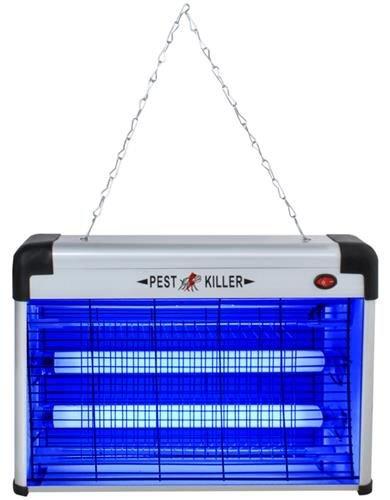 ISO Elektrický lapač hmyzu s UV žiarivkou 20W, 8626