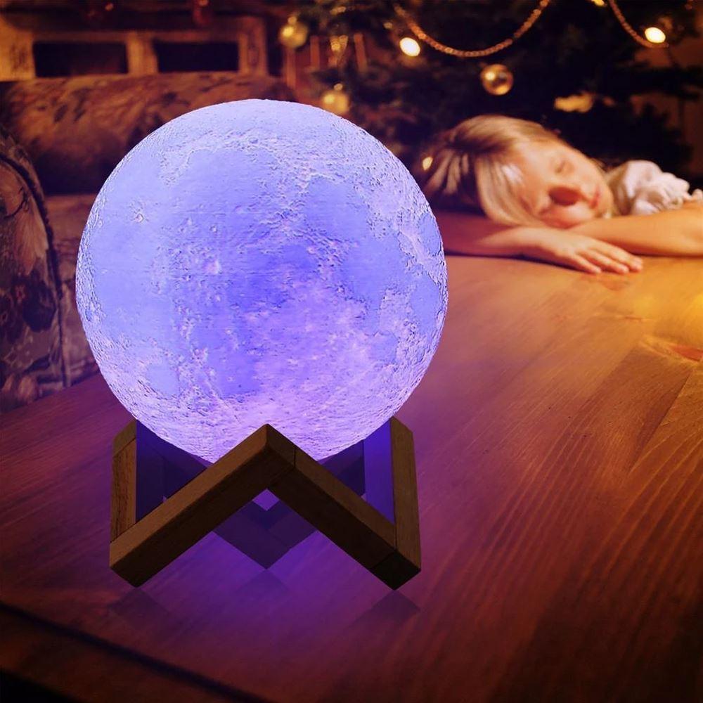 B2B Lampička - farebný Mesiac J103