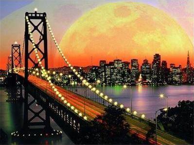 B2B Diamantové maľovanie - New York V506