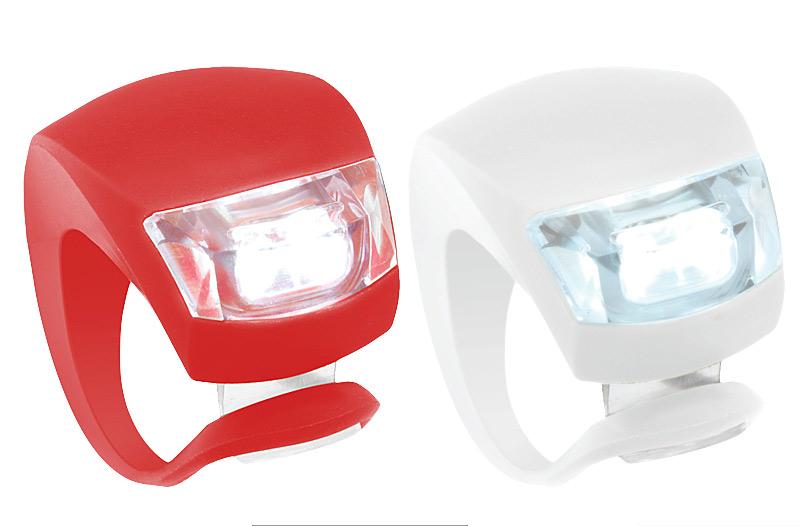 Sada bezpečnostních světel na kolo