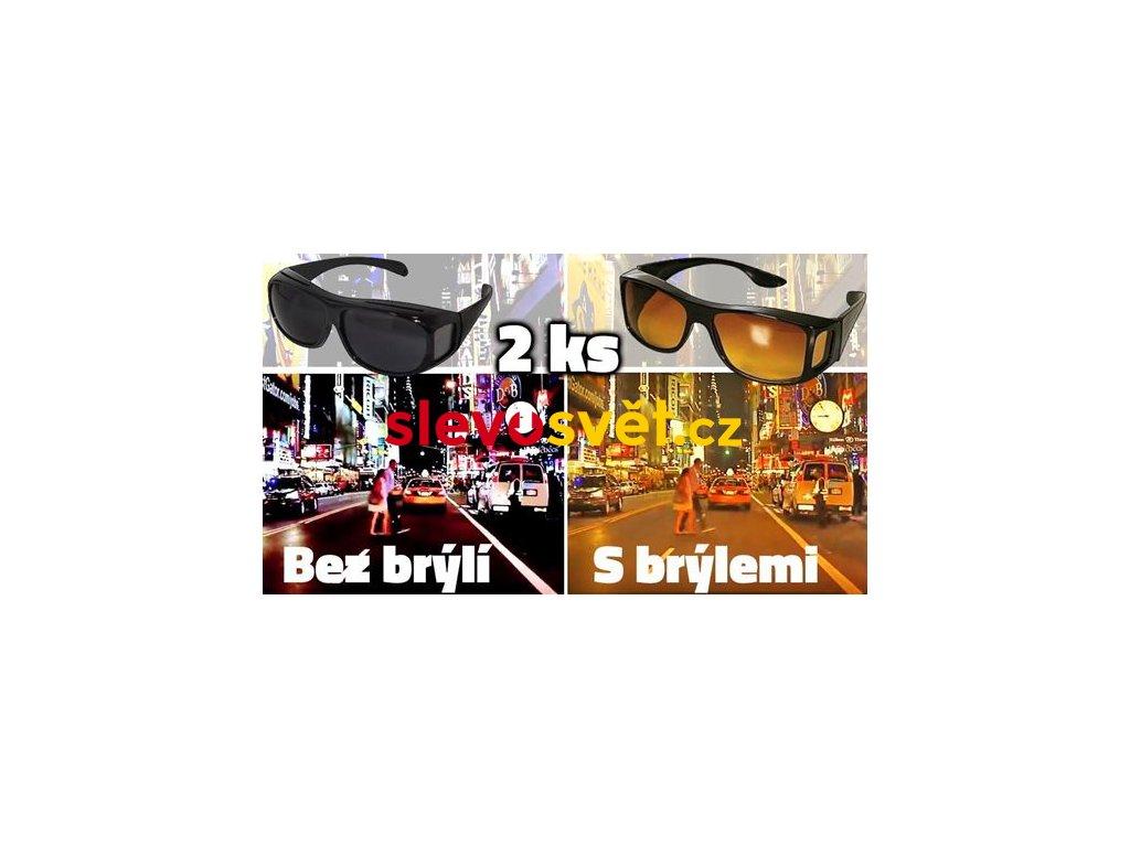 hd vision bryle pro ridice 2 ks
