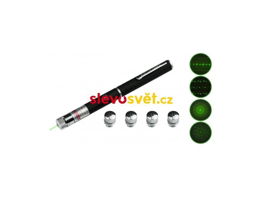 Laserové ukazovátko zelené 50 mW
