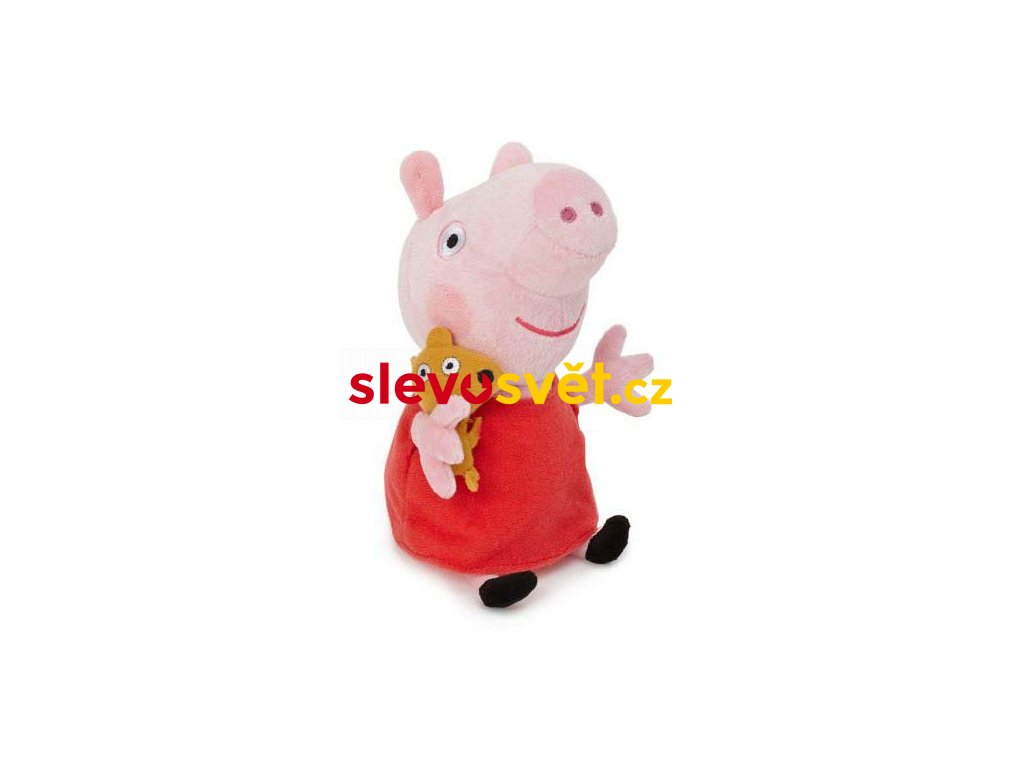 Prasátko Peppa plyšová hračka 25 cm