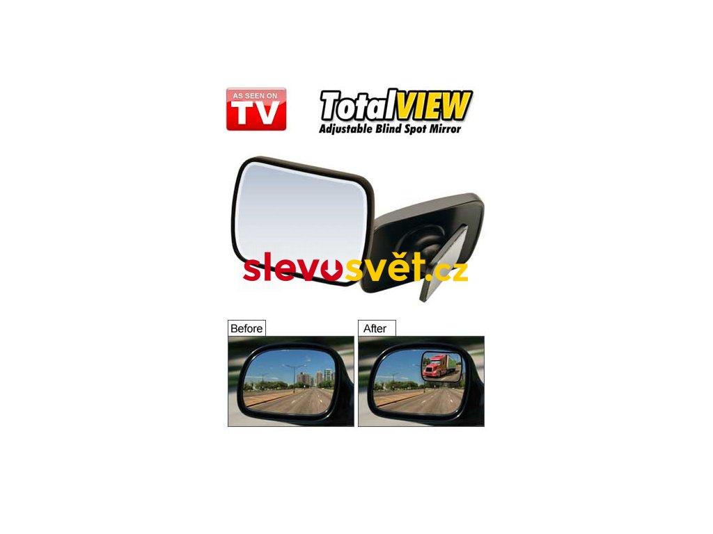 Zpětné zrcátko pro slepý úhel - TOTAL VIEW - 2Ks