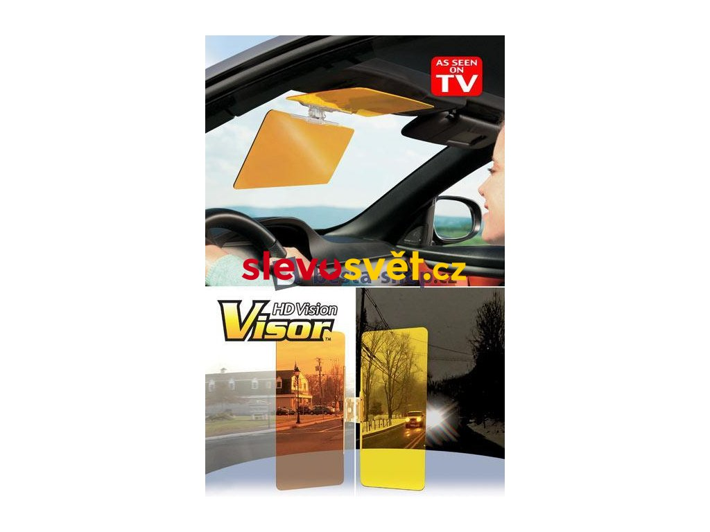 HD VISION VISOR Clona do auta