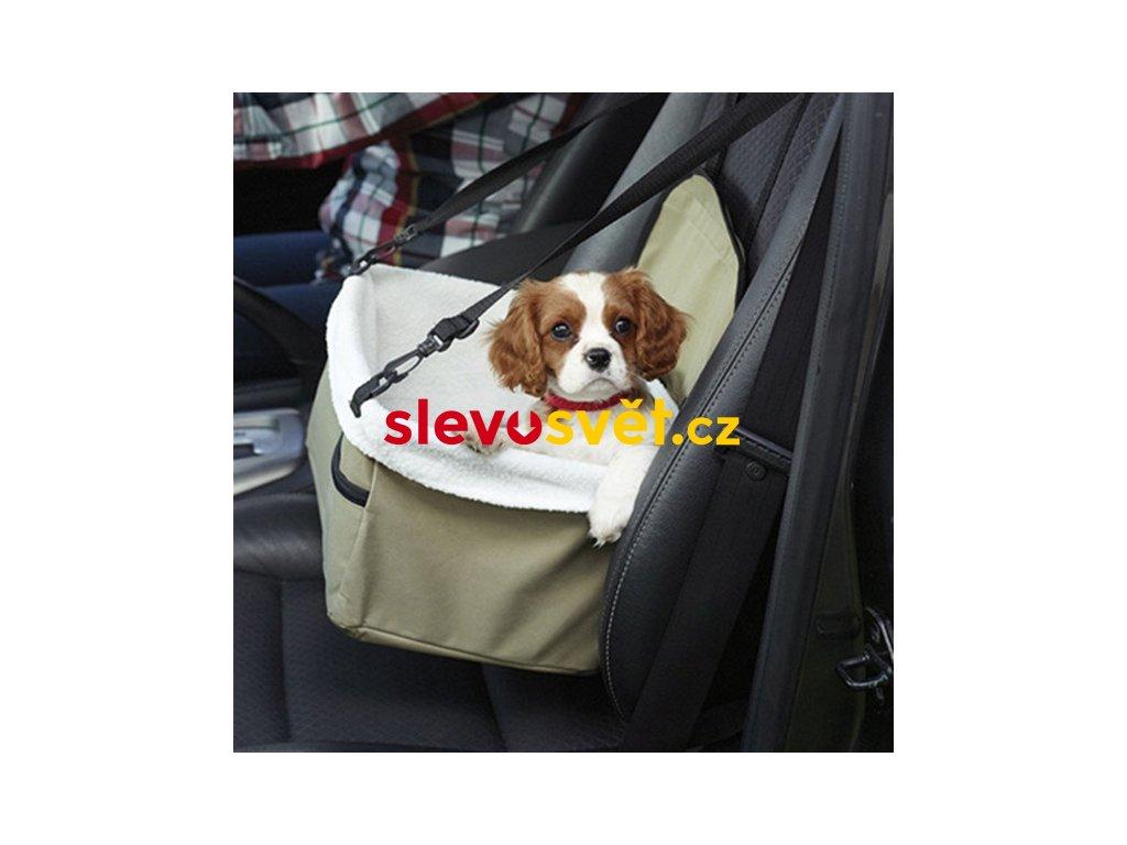 Autosedačka pro psa 34x25x20 cm