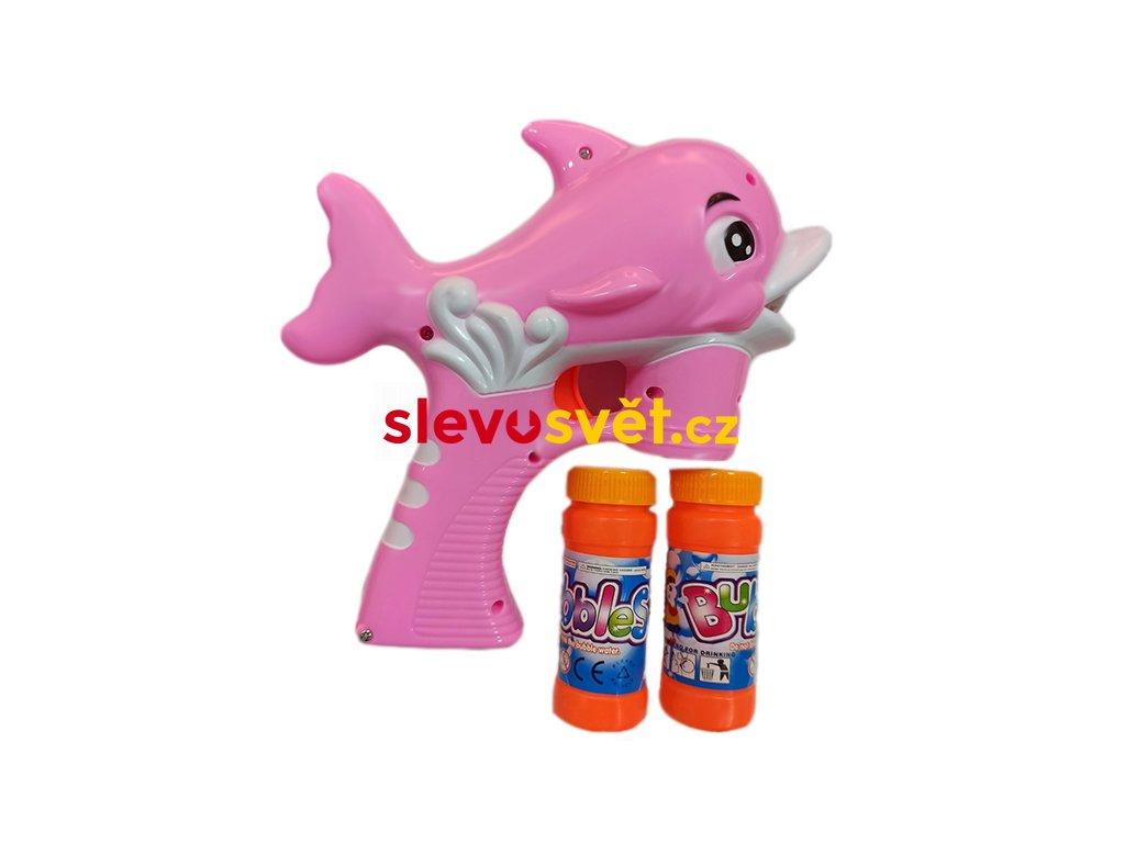 delfín růžový