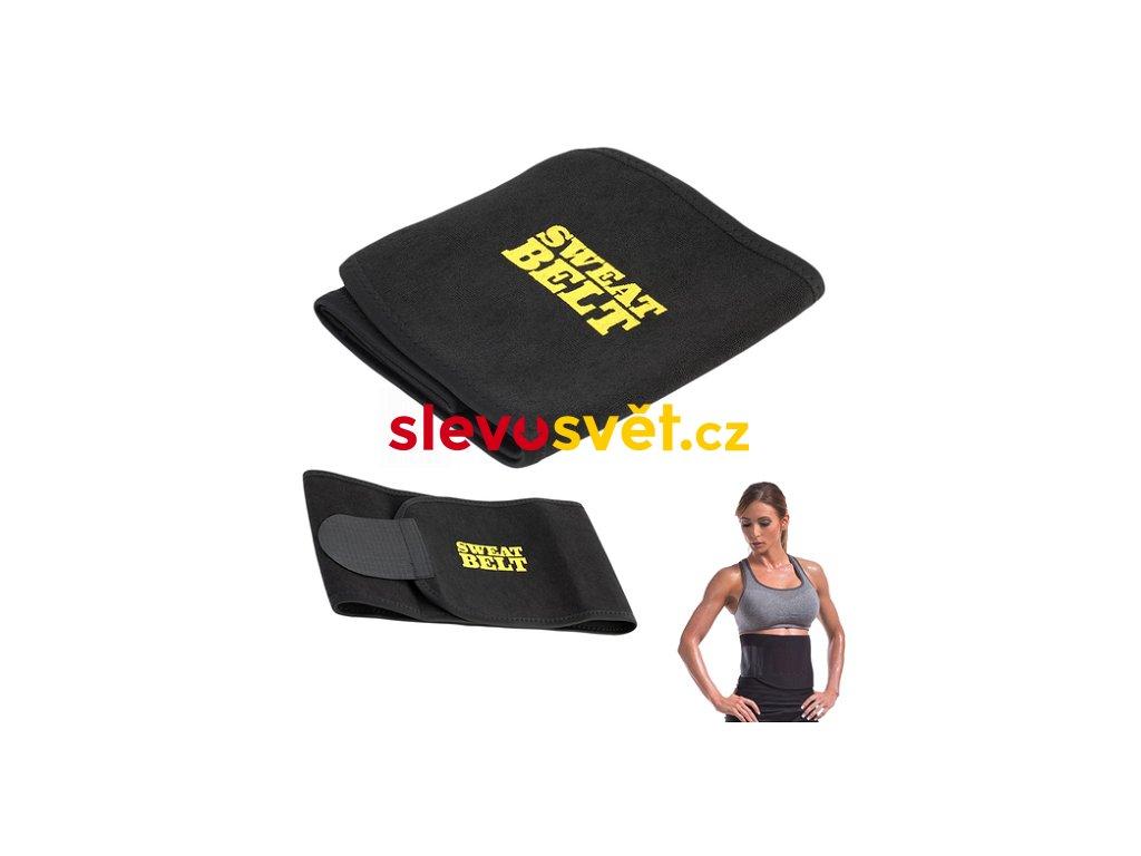 Neoprenový pás na hubnutí - Sweat Belt vel M