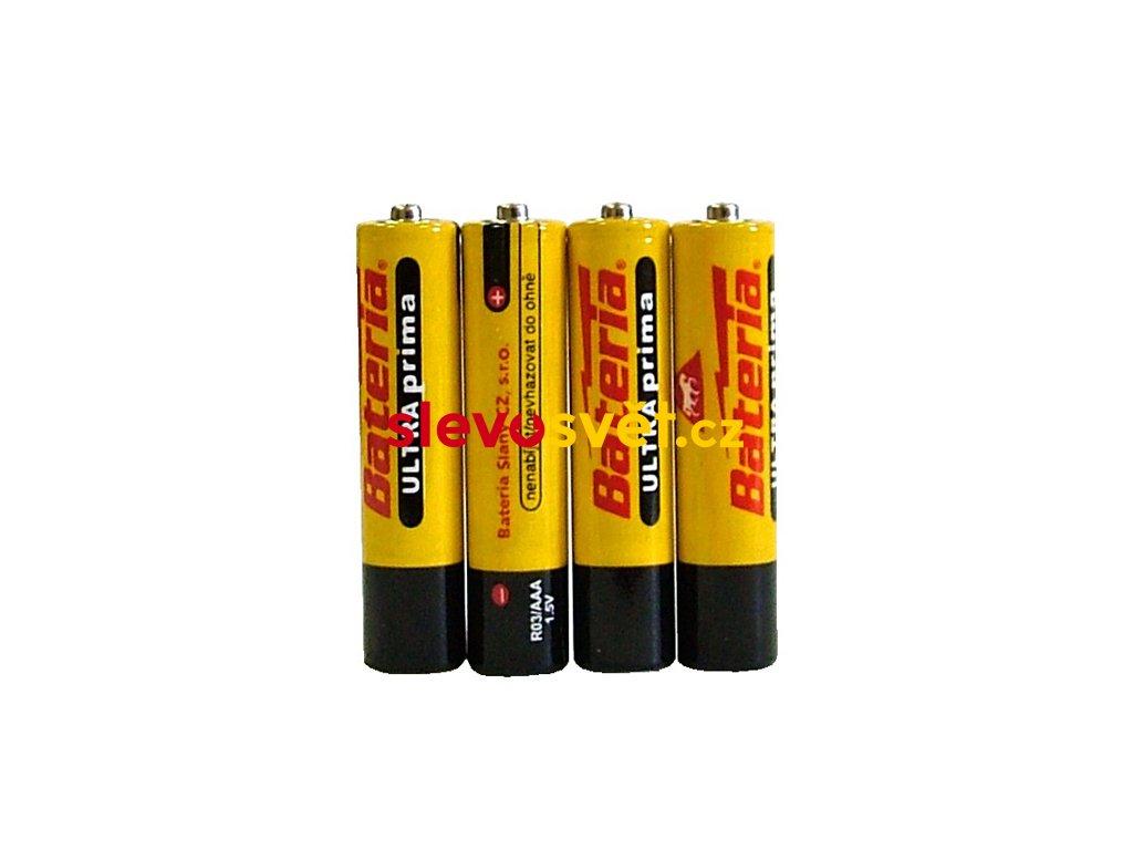 Baterie ULTRA prima R03 - AAA - 1,5V